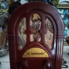 Radios antiguas: APARATO DE RADIO COLECCIÓN DE LA NOSTALGIA DE LA RADIO. Lote 213077575