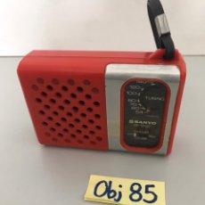 Radios antiguas: RADIO ANTIGUA SANYO. Lote 213163007