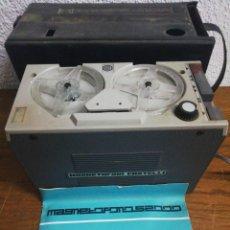 Radios antiguas: MAGNETOFONO CASTELLI CON FUNDA E INSTRUCCIONES. Lote 213231816
