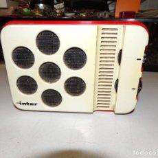 Radios antiguas: RADIO TRANSISTOR INTER E 144 VINTAGE. Lote 213331802