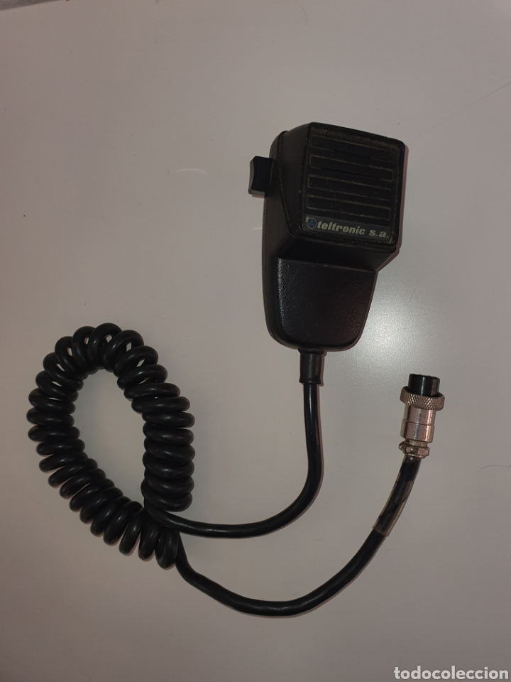 MICROFONO PERA TELTRONIC (Radios, Gramófonos, Grabadoras y Otros - Transistores, Pick-ups y Otros)