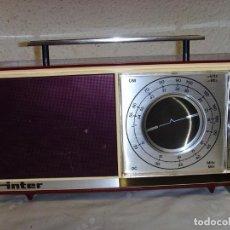 Radios antiguas: RADIO INTER AM. Lote 213579830