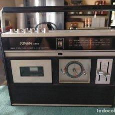Radios antiguas: RADIO CASSETTE RELOJ JONAN. MOD. 2400 FA.. Lote 213680771