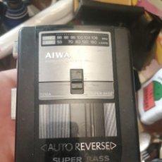 Radios antiguas: WALKMAN AIWA SUPER BASS T210A FUNCIONANDO. Lote 213720845