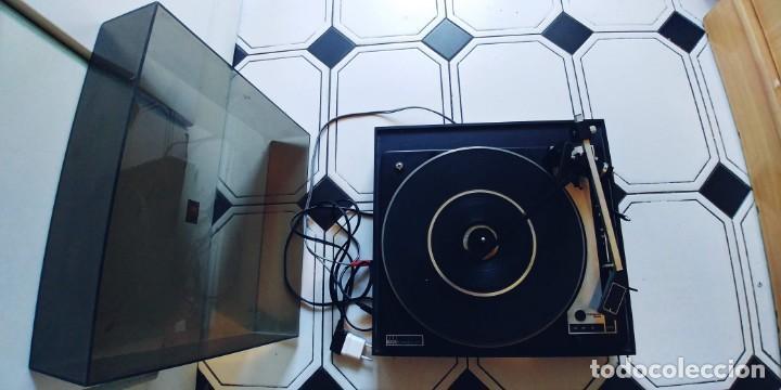 Radios antiguas: tocadiscos vieta uno bsr mc donald 610,funciona perfectamente,recoger en madrid o mandar agencia - Foto 2 - 213733325