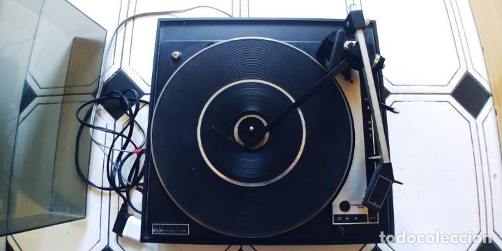 Radios antiguas: tocadiscos vieta uno bsr mc donald 610,funciona perfectamente,recoger en madrid o mandar agencia - Foto 4 - 213733325