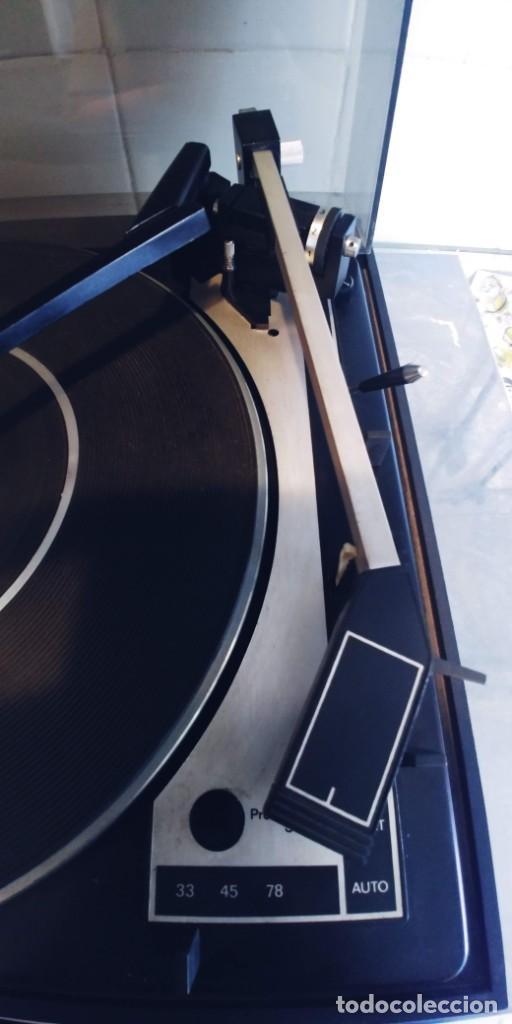 Radios antiguas: tocadiscos vieta uno bsr mc donald 610,funciona perfectamente,recoger en madrid o mandar agencia - Foto 7 - 213733325