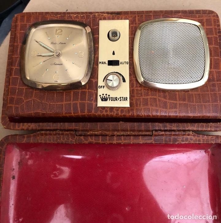 Radios antiguas: Antigua transistor portátil four star - Foto 2 - 214260922