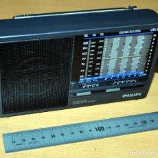 Radios antiguas: RADIO TRANSISTOR PHILIPS AE-3205 9 BAND - BIEN CONSERVADO Y FUNCIONANDO - CON 3 PILAS AA - AÑO 1987. Lote 215145516