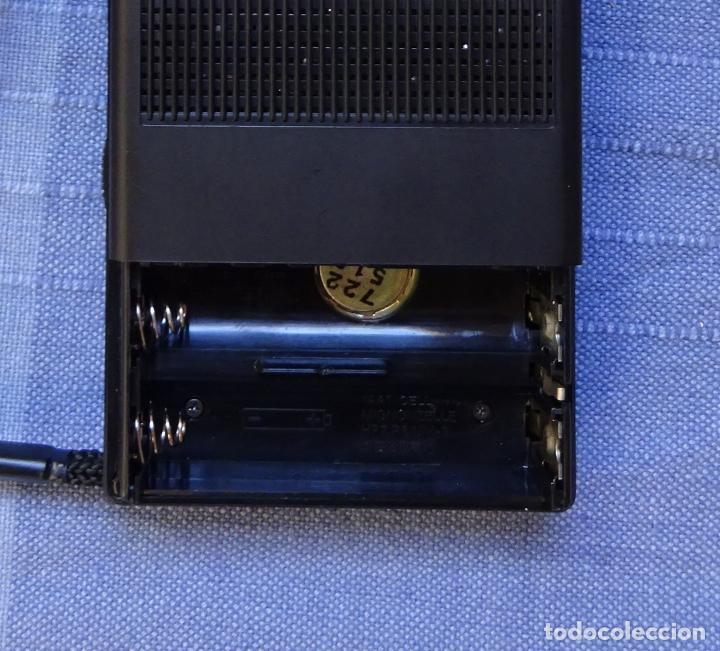 Radios antiguas: GRABADORA DE MINICASETES SANYO TRC 5495, CON FUNDA Y CAJA ORIGINAL. FUNCIONANDO - Foto 6 - 215323801