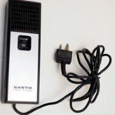 Radios antiguas: MICRÓFONO DINÁMICO SANYO. Lote 215955027