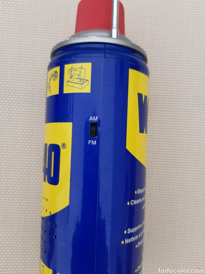 Radios antiguas: Radio imitación bote de aceite WD-40 - Foto 4 - 215989951
