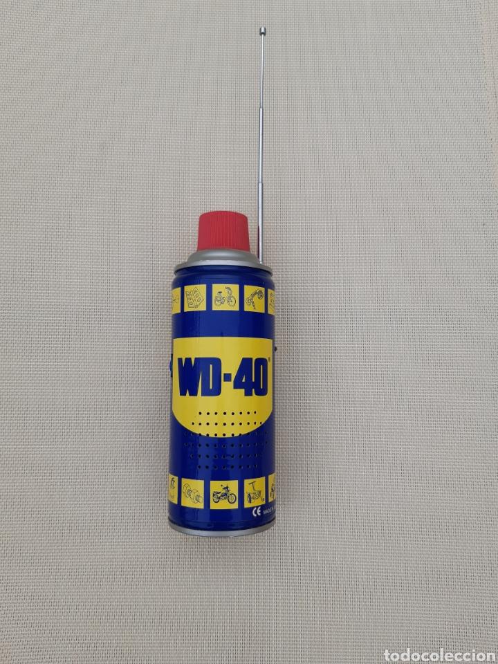 RADIO IMITACIÓN BOTE DE ACEITE WD-40 (Radios, Gramófonos, Grabadoras y Otros - Transistores, Pick-ups y Otros)