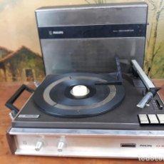 Radios antiguas: ANTIGUO TOCADISCOS PORTATIL PHILIPS ALL TRANSISTOR.. Lote 215997491