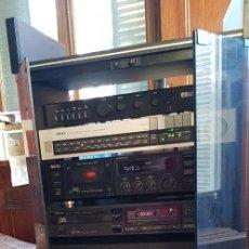 Radios antiguas: EQUIPO DE MÚSICA: AMPLIFICADOR CREEK CAS 4040. RADIO Y CASETTE AKAI. REPRODUCTOR CD DENON + MUEBLE.. Lote 216390361