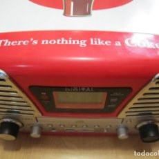 Radios antiguas: TOCADISCOS RADIO USB CD COCA COLA. Lote 216534301