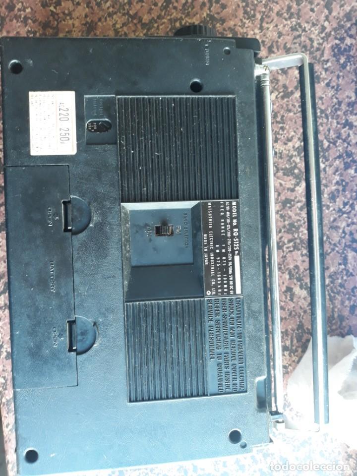Radios antiguas: RADIO NATIONAL PANASONIC Model RQ 512S - Foto 6 - 228136885