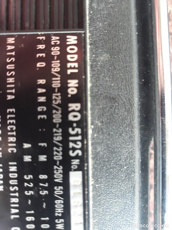 Radios antiguas: RADIO NATIONAL PANASONIC Model RQ 512S - Foto 8 - 228136885