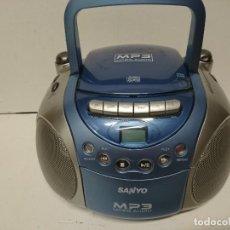 Radios antiguas: RADIO CASSETTE SANYO. Lote 216822915
