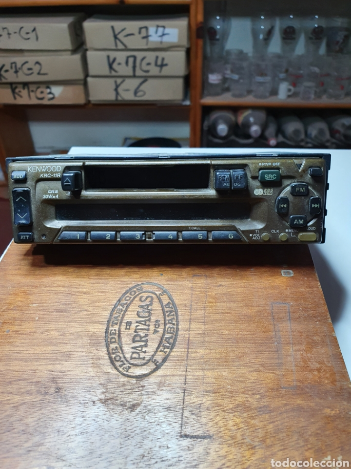 Radios antiguas: Radio, cassette, kenwood krc - 11r, frontal extraible, sin probar. - Foto 2 - 216930145