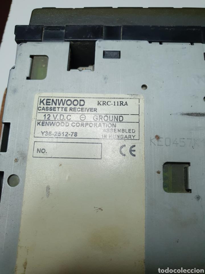 Radios antiguas: Radio, cassette, kenwood krc - 11r, frontal extraible, sin probar. - Foto 3 - 216930145