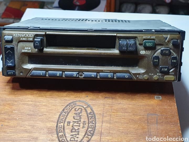RADIO, CASSETTE, KENWOOD KRC - 11R, FRONTAL EXTRAIBLE, SIN PROBAR. (Radios, Gramófonos, Grabadoras y Otros - Transistores, Pick-ups y Otros)