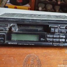 Radios antiguas: RADIO CASSETTE, KENWOOD KRC-554L, FRONTAL EXTRAIBLE, SIN PROBAR.. Lote 216953490