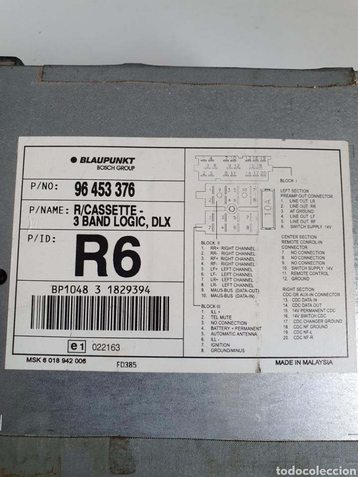 Radios antiguas: Radio cassette reversible, blaupunkt, frontal extraible, sin probar. - Foto 3 - 216954336