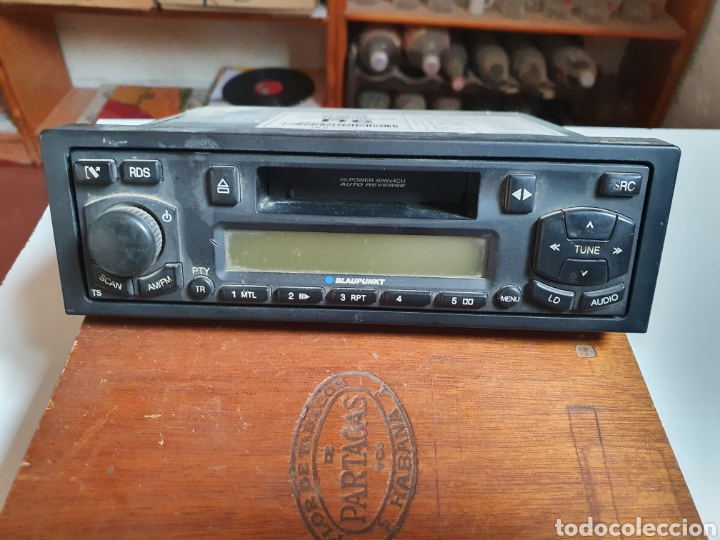 RADIO CASSETTE REVERSIBLE, BLAUPUNKT, FRONTAL EXTRAIBLE, SIN PROBAR. (Radios, Gramófonos, Grabadoras y Otros - Transistores, Pick-ups y Otros)