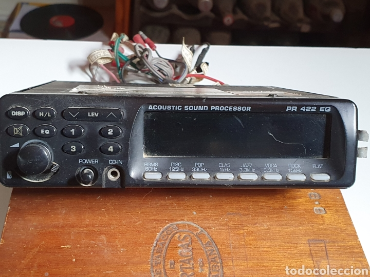Radios antiguas: Equalizador, para coche, proline, acústica sound procesor, pr 422 eq, sin probar. - Foto 2 - 216955373