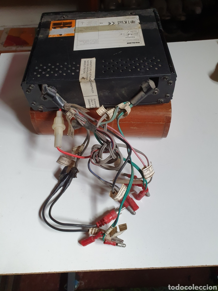 Radios antiguas: Equalizador, para coche, proline, acústica sound procesor, pr 422 eq, sin probar. - Foto 4 - 216955373