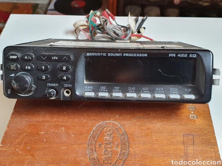 EQUALIZADOR, PARA COCHE, PROLINE, ACÚSTICA SOUND PROCESOR, PR 422 EQ, SIN PROBAR. (Radios, Gramófonos, Grabadoras y Otros - Transistores, Pick-ups y Otros)