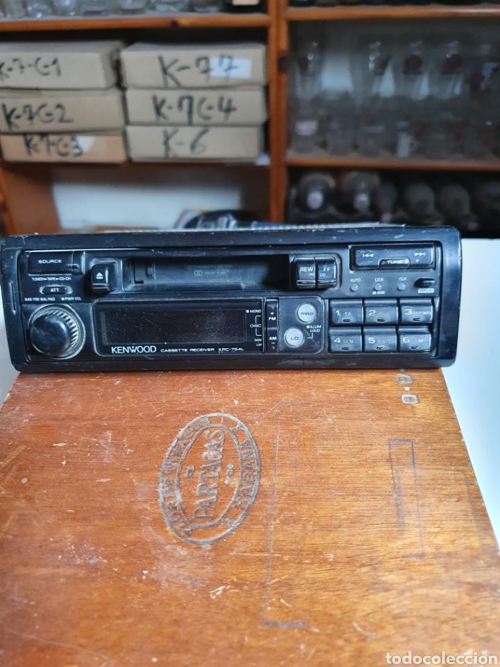 Radios antiguas: Radio cassette, kenwood, krc-754l, frontal extraible, sin probar. - Foto 2 - 216955845