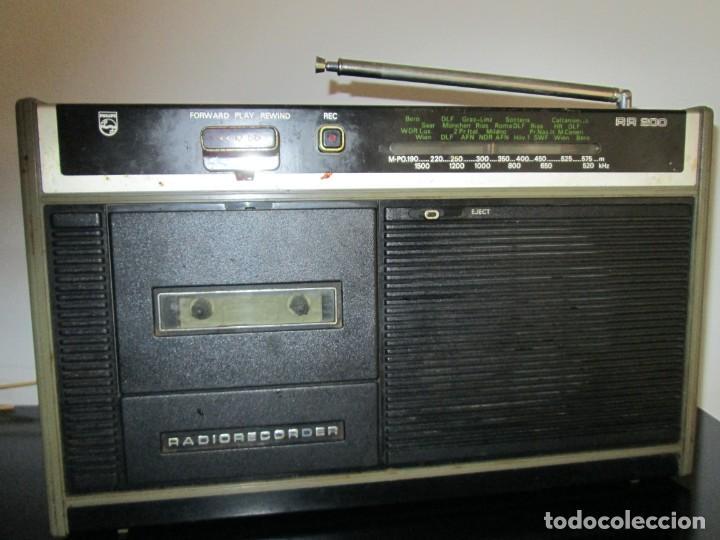 RADIOCASETE PHILIPS RADIO RECORDER (Radios, Gramófonos, Grabadoras y Otros - Transistores, Pick-ups y Otros)