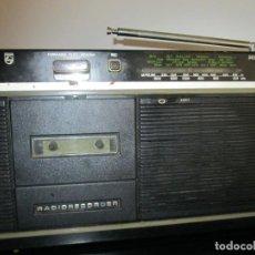 Radios antiguas: RADIOCASETE PHILIPS RADIO RECORDER. Lote 217025622