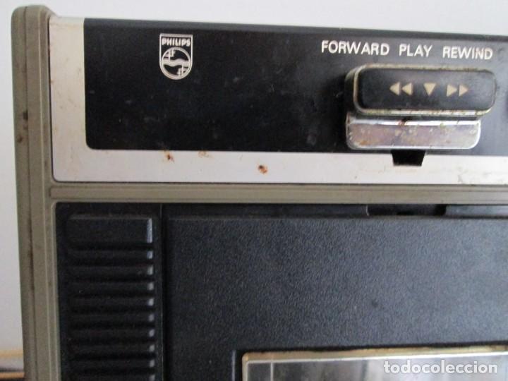 Radios antiguas: radiocasete philips radio recorder - Foto 4 - 217025622