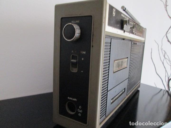 Radios antiguas: radiocasete philips radio recorder - Foto 5 - 217025622