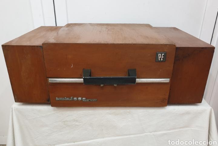 Radios antiguas: Tocadiscos Pe - Foto 3 - 217065246