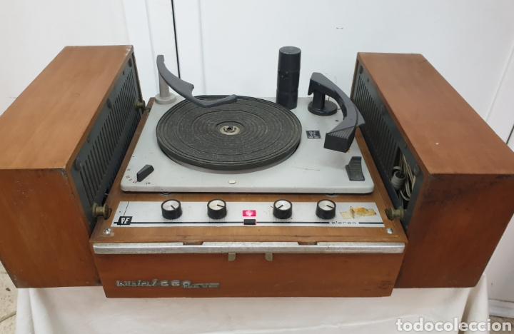 Radios antiguas: Tocadiscos Pe - Foto 6 - 217065246