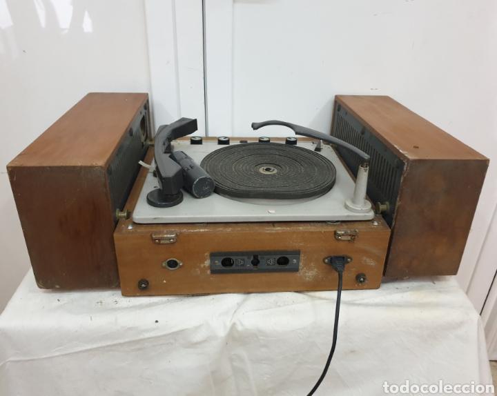 Radios antiguas: Tocadiscos Pe - Foto 7 - 217065246