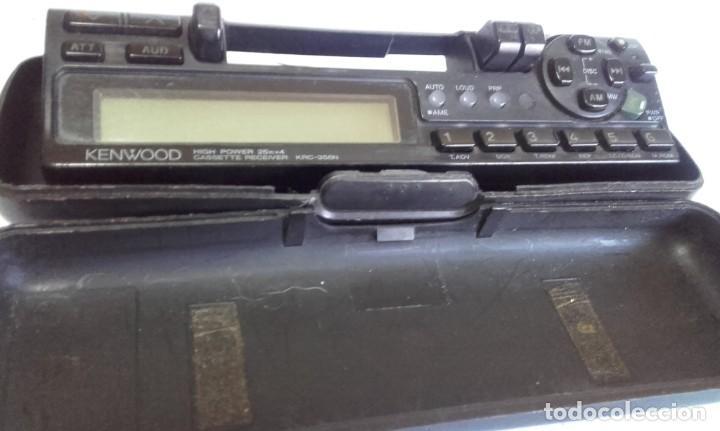 Radios antiguas: EQUIPO PARA AUTOMOVIL KENWOOD. 25 W. X 4. CON RADIO CASSETTE Y CARGADOR PARA 10 CD - Foto 4 - 217091050