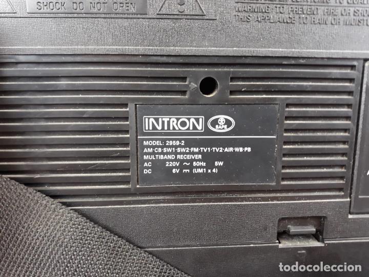 Radios antiguas: Radio intrón antigua com etiqueta - como nueva - Foto 4 - 217108387