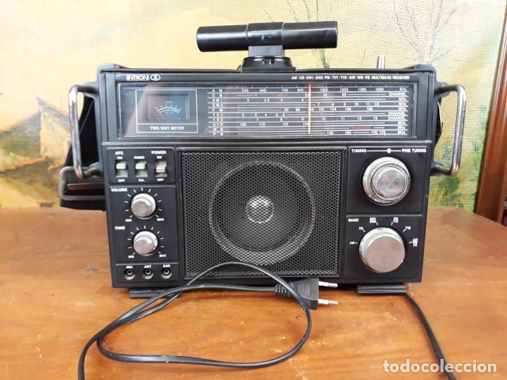 RADIO INTRÓN ANTIGUA COM ETIQUETA - COMO NUEVA (Radios, Gramófonos, Grabadoras y Otros - Transistores, Pick-ups y Otros)