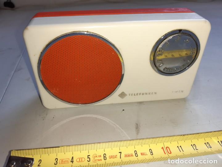 Radios antiguas: Transistor telefunken antiguo - Foto 3 - 217118801