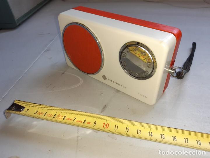 Radios antiguas: Transistor telefunken antiguo - Foto 4 - 217118801
