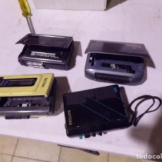 Radios antiguas: LOTE REPRODUCTOR WALKMAN CASETE. Lote 217261110