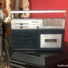 Radios antiguas: RADIO CASSETTE KÖNIGER 3007 . MADE IN SPAIN . VER FOROS. Lote 217361140