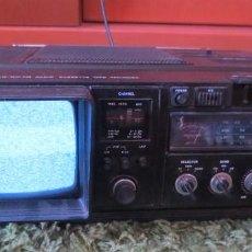 Radios antiguas: COMBO TV-RADIO-CASSETTE PORTATIL HATAI. FUNCIONANDO Y CON SU MANUAL INSTRUCCIONES.. Lote 217473720