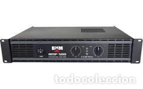 CLOUD NIGHT C-POWER-500 AMPLIFICADOR ESTÉRO 2 X 200 WRMS / 4 OHMS ESTÉREO PEPETO ELECTRONICA (Radios, Gramófonos, Grabadoras y Otros - Transistores, Pick-ups y Otros)