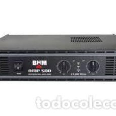 Radios antiguas: CLOUD NIGHT C-POWER-500 AMPLIFICADOR ESTÉRO 2 X 200 WRMS / 4 OHMS ESTÉREO PEPETO ELECTRONICA. Lote 230980565